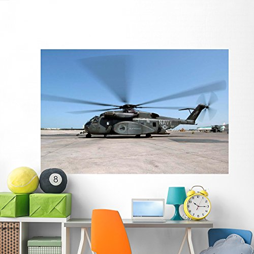 - Mh-53e Sea Dragon Helicopter Wall Mural by Wallmonkeys Peel and Stick Graphic (72 in W x 48 in H) WM44749