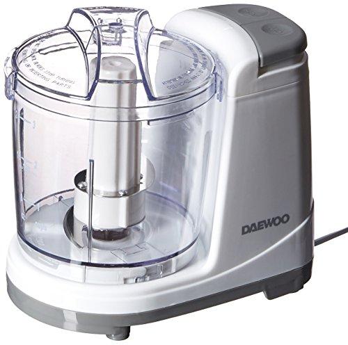 Daewoo DFP-415M 135 Watts Mini Food Chopper, 3-Cups, White 220 Volts (Not for USA) (240 V Appliances)