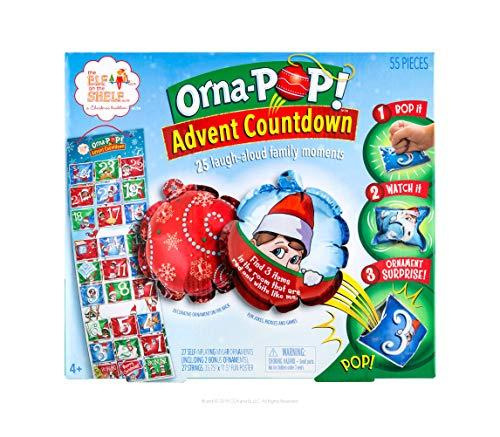[해외]The Elf on the Shelf Orna-Pop Advent Countdown / The Elf on the Shelf Orna-Pop Advent Countdown