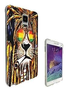 716 - Rasta León escardar Cannibas diseño Samsung Galaxy Core Prime pelo jamaiquinos G360 cellbell caso caucho de silicona todos los bordes funda protectora