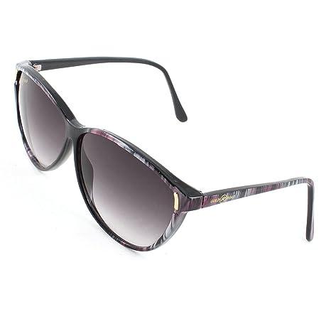 Signore delle donne fucsia grigio a righe plastica Full Frame Occhiali da sole Occhiali da vista 0FXfUVvMcx
