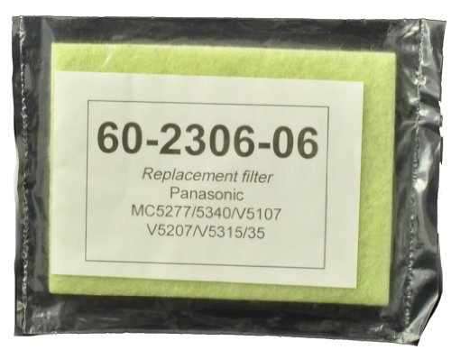 Filter Secondary Upright (Panasonic Upright Vac Cleaner Secondary Micron Filter)