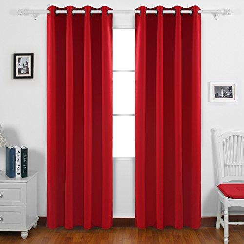 Deconovo fashionable blackout drapes grommet curtains for Cortinas de moda