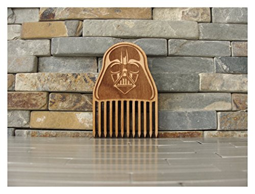 Darth vader Wood Beard Comb