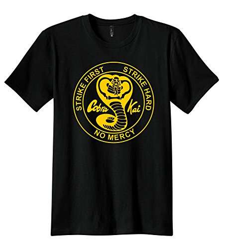 New Publiciteez Karate Kid Cobra Kai Logo T-shirt (2XL, (Cobra Kai Logo)