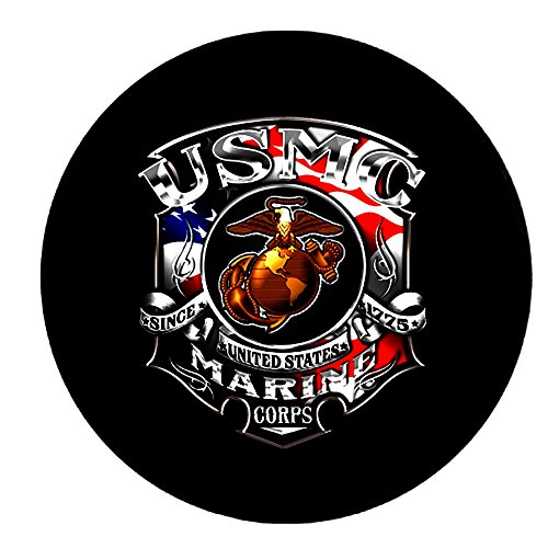 marine corps spare tire cover - 8