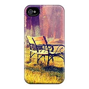 Perfect Fit KovXene7877NpDjA Autumn Landscape Case For Iphone - 4/4s