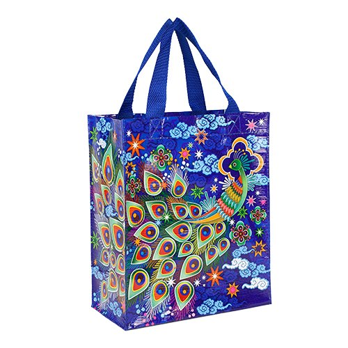 (Blue Q Peacock Handy Tote)
