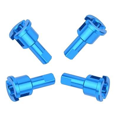 4 UNIDS / Set Copa Diferencial de Aleación de Aluminio de Reducción Diferencial Joint Cup piezas RC para WLtoys A949 A959 A969 A979 Modelo K929 Coche: Juguetes y juegos