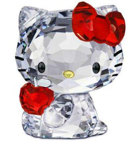Swarovski Crystal Apple - Swarovski Hello Kitty Red Apple