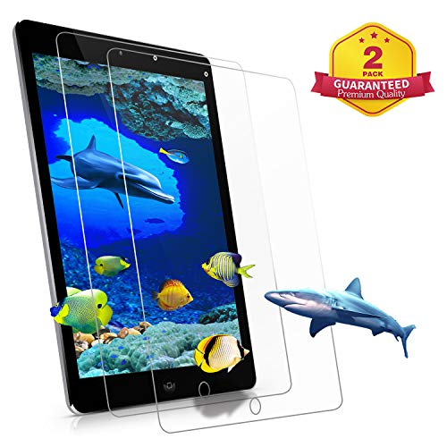 [2 PACK] ZTOZ iPad 6th/5th Generation Screen Protector,[State Of The Art][Lifetime Replacement Warranty][Anti-Scratch][Anti-Fingerprint][Bubble Free] for iPad 9.7 inch 2018/2017 Air 1 2