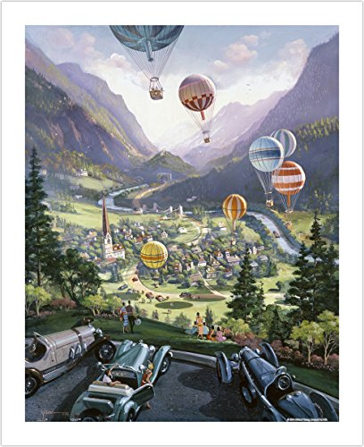 hael Young - Up Up and Away - 500 Piece Plastic Puzzle (Michael Young Game)