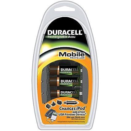 Duracell - Cargador - Portátil + AAx2 + AAAx2: Amazon.es ...