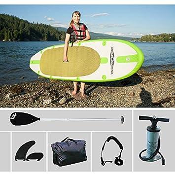 300 * 75,5 * 10 cm Aqua marina SPK1 hinchable de tablas de surf