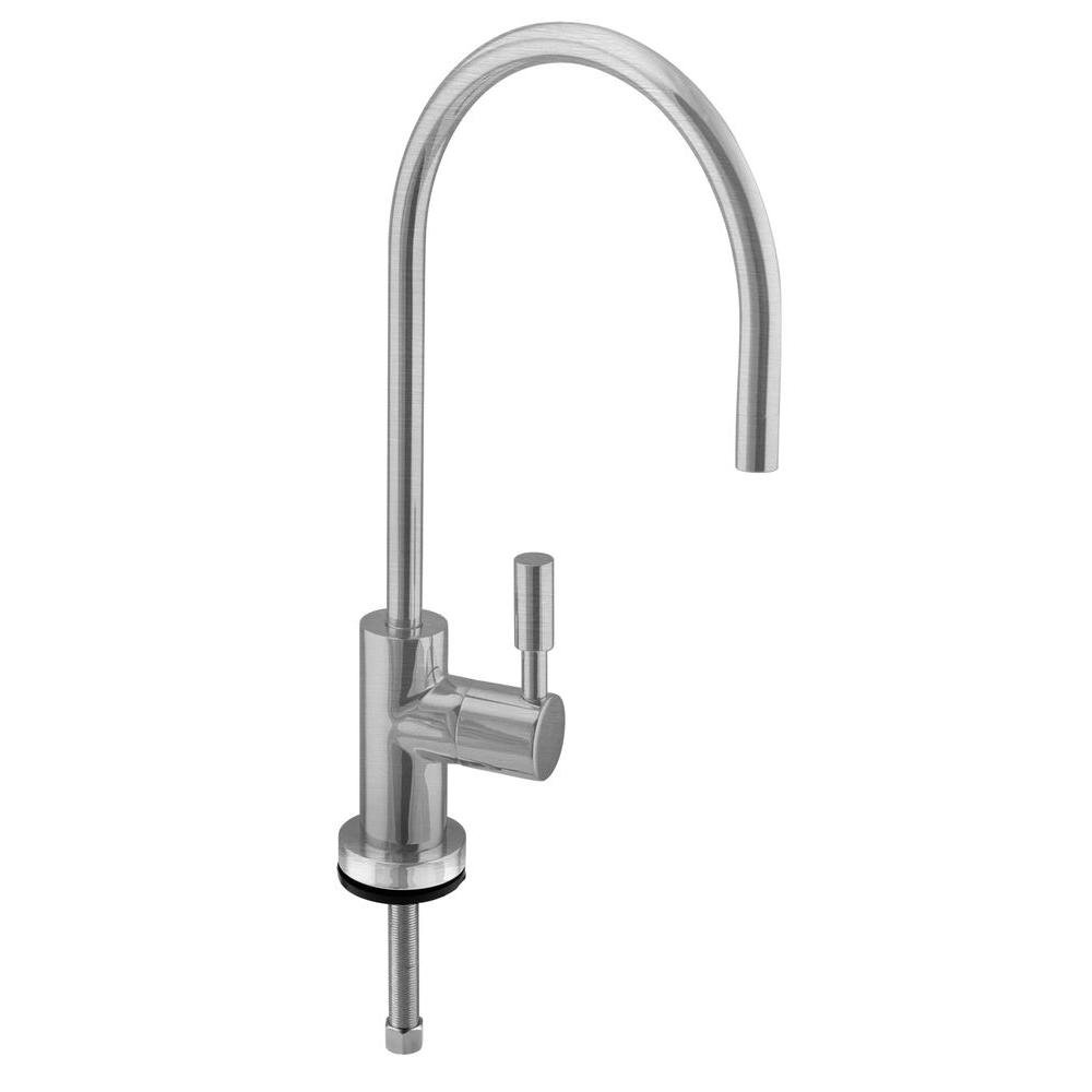 Westbrass Contemporary 11'' Cold Water Dispenser, Stainless Steel, D2036-NL-20