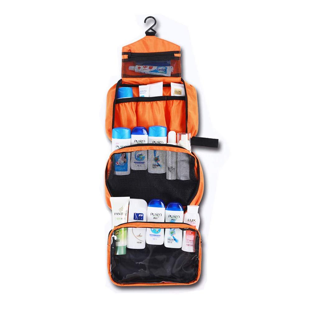 Jeerui Bolsa de cosméticos Bolsa de Aseo para Hombres y Mujeres de Viaje Camping Cosas necesarias cosméticos/Bolso cosmético/Organizadores de Viaje/Bolsa para (Azul Oscuro) (Azul)