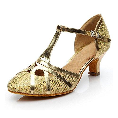 Tacco Donna Con oro Party Scintillanti Scarpe B similpelle Argento Ballo colore Da Dimensione 41 scarpe Glitter Evening Moderne amp; B fwwz5qF