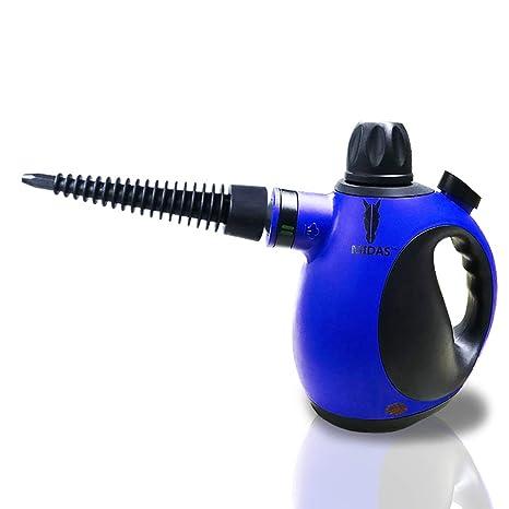 Midas Upgrade Limpiadora a Vapor portátil de Alta presión y Alta Temperatura, Quita Manchas,