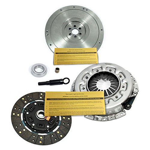 Pickup Clutch Flywheel - EFT HD CLUTCH KIT+FLYWHEEL for 83-96 NISSAN PICKUP 720 D21 PATHFINDER 2.0L 2.4L