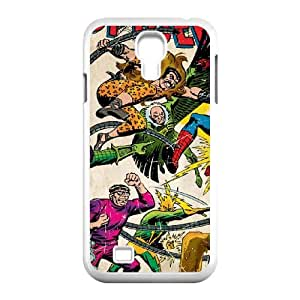 Samsung Galaxy S4 9500 Cell Phone Case White_Spider Man vs Sinister Six Ylbnz