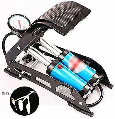 Bicycle Foot Pump Electric Motorcycle High Pressure Portable Pedal Air Pump USA
