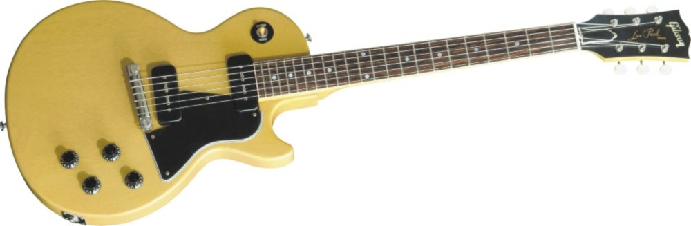 Gibson Custom Shop Historic Collection 1960 Les Paul Special Single Cut VOS TV Yellow S/N:0 6291   B001R2FYOM