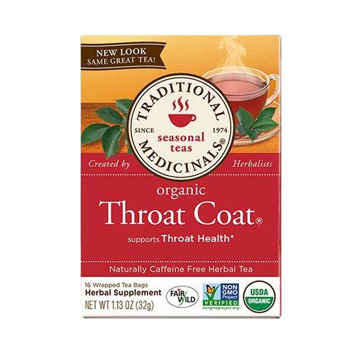 Traditional Medicinals Organic Throat Coat Herbal …