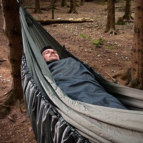 Snugpak Hammock Quilt with Travelsoft Insulation, - Olive Sack Compression Snugpak