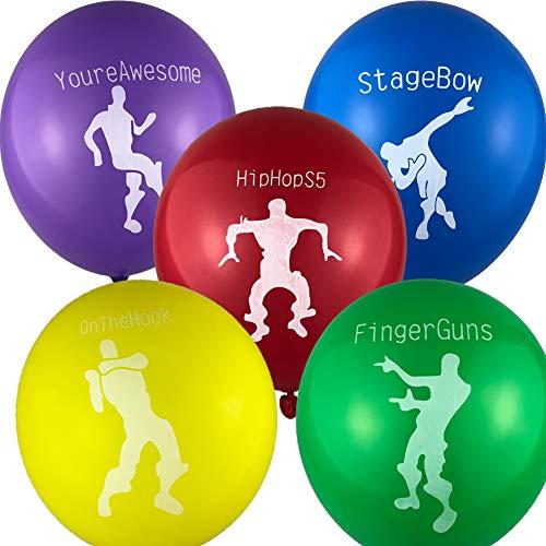 50pcs FORTNITE Balloons Party Favors by YIXIKJ