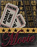 admit one ticket wall art - Old-Fashioned Movie and Admit One Ticket Cinema Sign; One 11X14 Poster Print