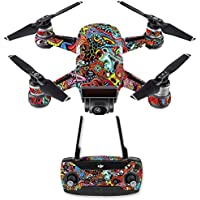 Skin for DJI Spark Mini Drone Combo - Acid Trippy| MightySkins Protective, Durable, and Unique Vinyl Decal wrap cover | Easy To Apply, Remove, and Change Styles | Made in the USA