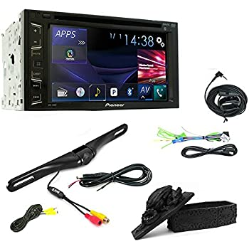 pioneer stereo avh 280bt touchscreen usb dvd cd car bluetooth stereo universal rear. Black Bedroom Furniture Sets. Home Design Ideas