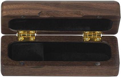 Estuche De Madera Con Almacenamiento De Madera Para Saxofón Y Instrumento De Viento De Viento - marrón: Amazon.es: Instrumentos musicales