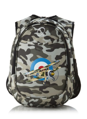 Obersee Kid's All-in-One Pre-School Backpacks with Integrated Cooler, Camo ()