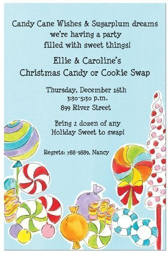 Amazon Com Candyland Party Invitations Health And Personal Care