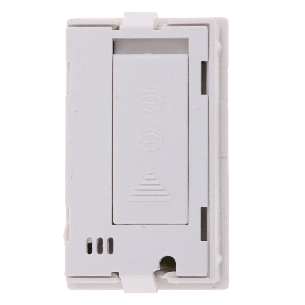 Noir FLAMEER Mini Thermom/ètre De Temp/érature Dhygrom/ètre Digital LCD 10~99/% -50~70 ℃