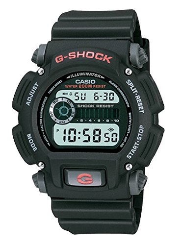 Casio Men's G-Shock DW9052-1V Black Resin Quartz Sport Watch