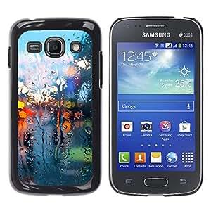 EJOY---Cubierta de la caja de protección la piel dura para el / Samsung Galaxy Ace 3 / --Seco Luces de cristal