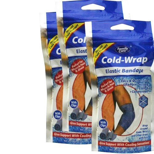 Family Care Cold-Wrap Elastic Bandage (3 Pack)