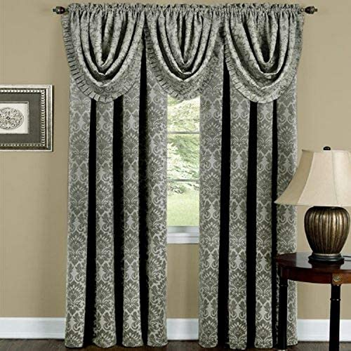 Ben Jonah Ben Jonah Sutton Window Curtain Panel 52×84-Sage Collection