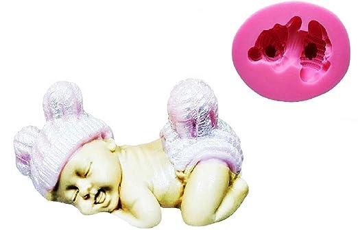Lovelegis Molde de Silicona para bebé - recién Nacido ...