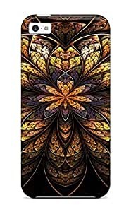 Hot Tpye Fractal Case Cover For Iphone 5c