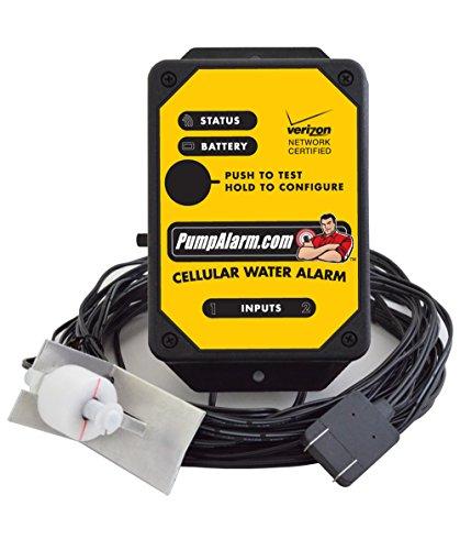 PumpAlarm.com Cellular Water Alarm (Sump Pump Alarms That Call Your Phone)