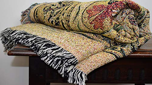 Pure Country Weavers ''Music in the Garden Blanket'' Tapestry Throw by Pure Country Inc. (Image #3)