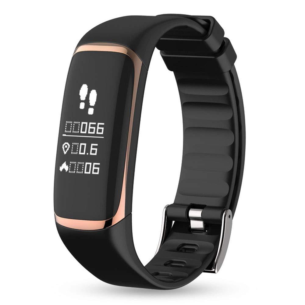 - WANGXN Fitness Tracker Bracelet Smart Heart taux de Sang oxygène Surveillance Bracelets bleutooth Bracelet étanche