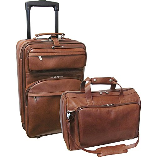 Leather Lined Carry On - 5