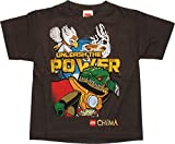 Lego Chima Unleash Power Brown Juvenile T-Shirt