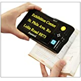 Eye C Portable Video Magnifier 1 5x 17x