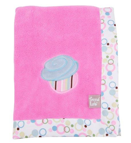 Trend Lab Framed Receiving Blanket, Cupcake
