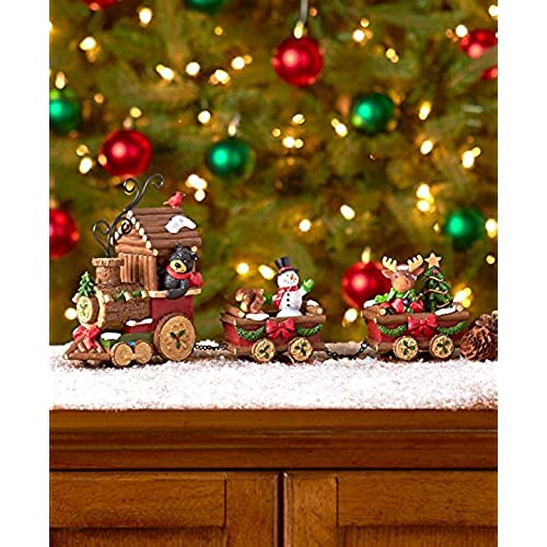 holiday train figurine set - Christmas Train Decoration